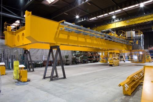 Réflecteurs industriels  LED en usine à Gand, Belgique