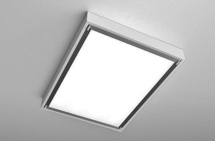 Surface mounted luminaires